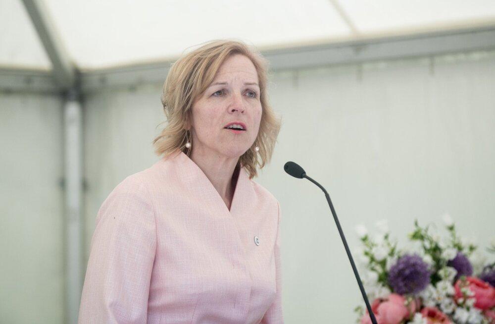 Lastekaitsepäeva vastuvõtt Presidendi Roosiaias
