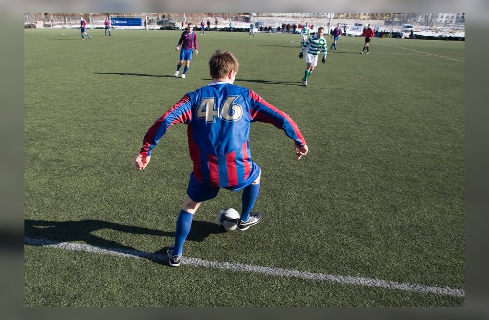 Kohtumine Paide Linnameeskond - FC Flora, jalgpall