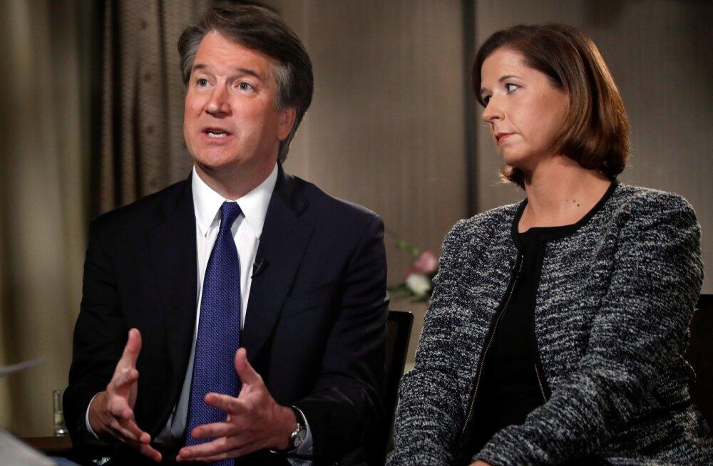 Trumpi ülemkohtu kandidaat Kavanaugh eitas telesaates naiste seksuaalset ründamist