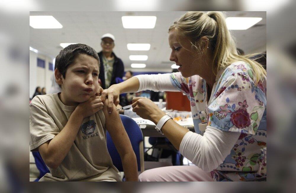 Gripp tapab hea tervisega lapsi kiiremini kui põduraid