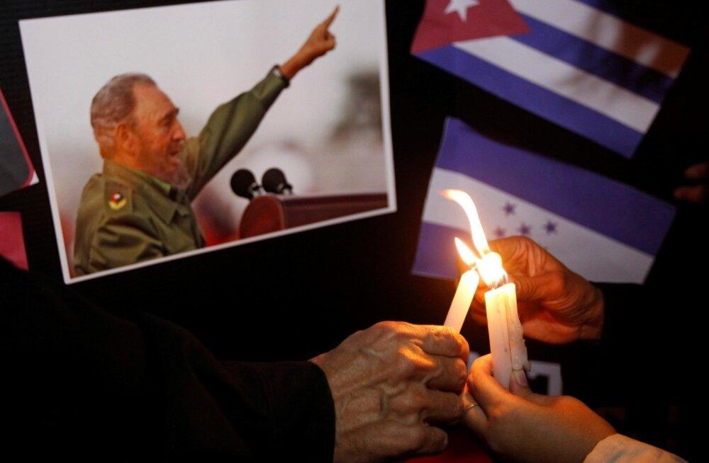 Kuuba leinab Fidel Castrot
