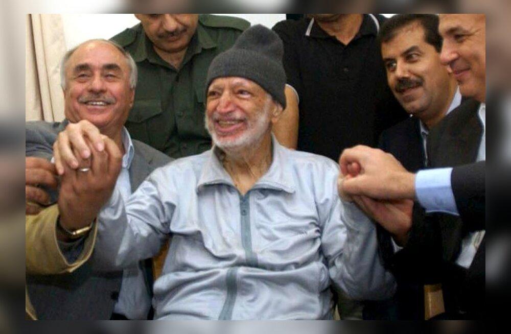 Kiirguseksperdid kinnitasid polooniumi olemasolu Arafati riietel