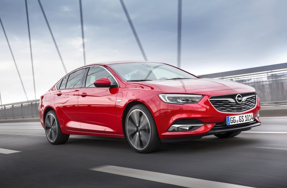 Opel Insignia, suurepärane tarbeese