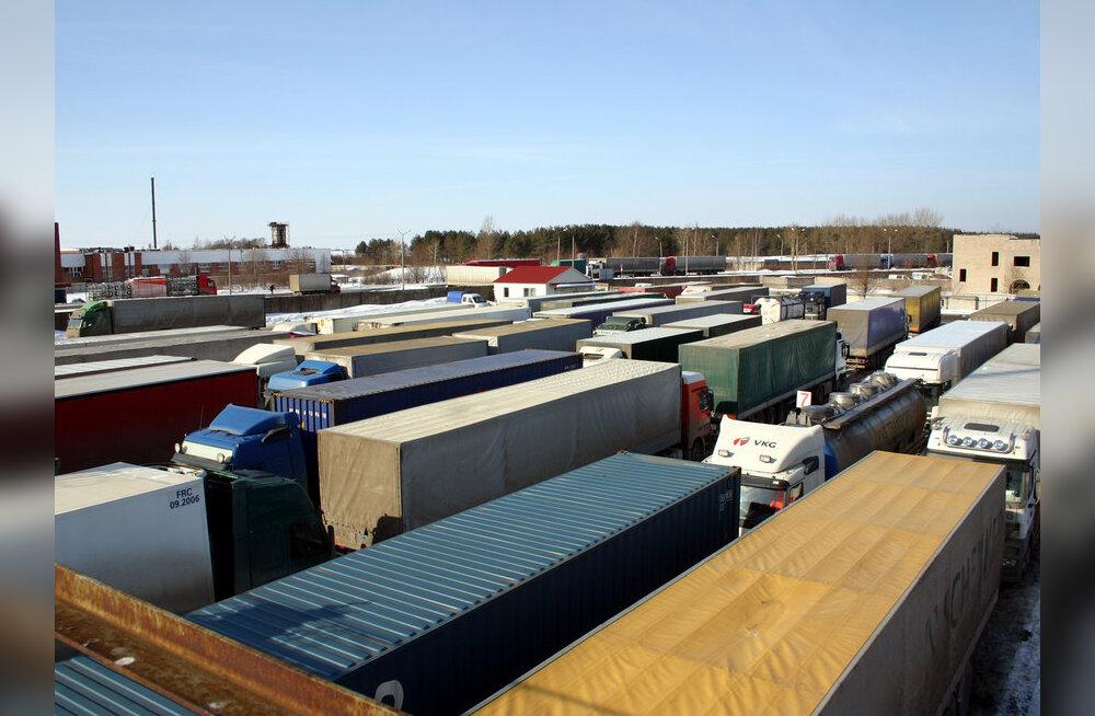 Läti esitas veokijuhtide kiusamise pärast Venemaale ultimaatumi