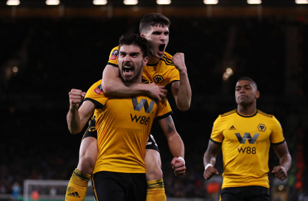 Ruben Neves tähistab Wolvesi väravat