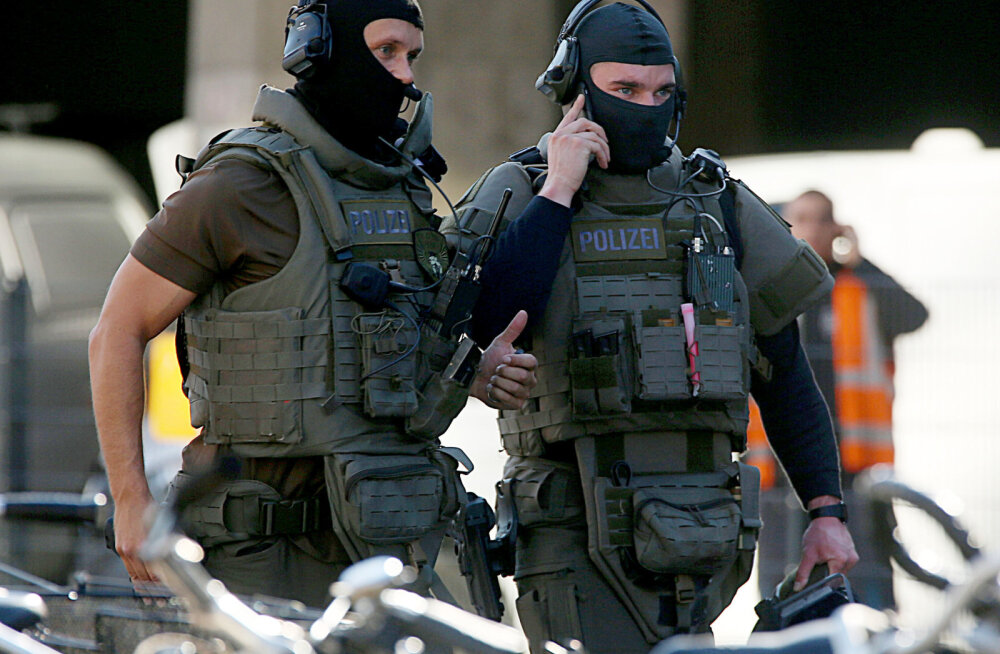 В Германии в центре Кельна произошел захват заложника
