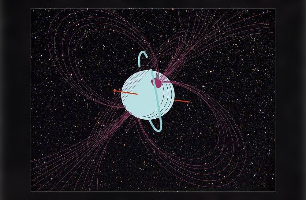 Uraan: planeet, mille pinnal sajab teemantvihma