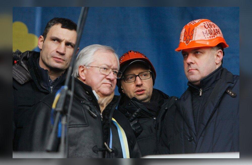 Ukraina opositsioon esitas Janukovõtšile viis nõudmist