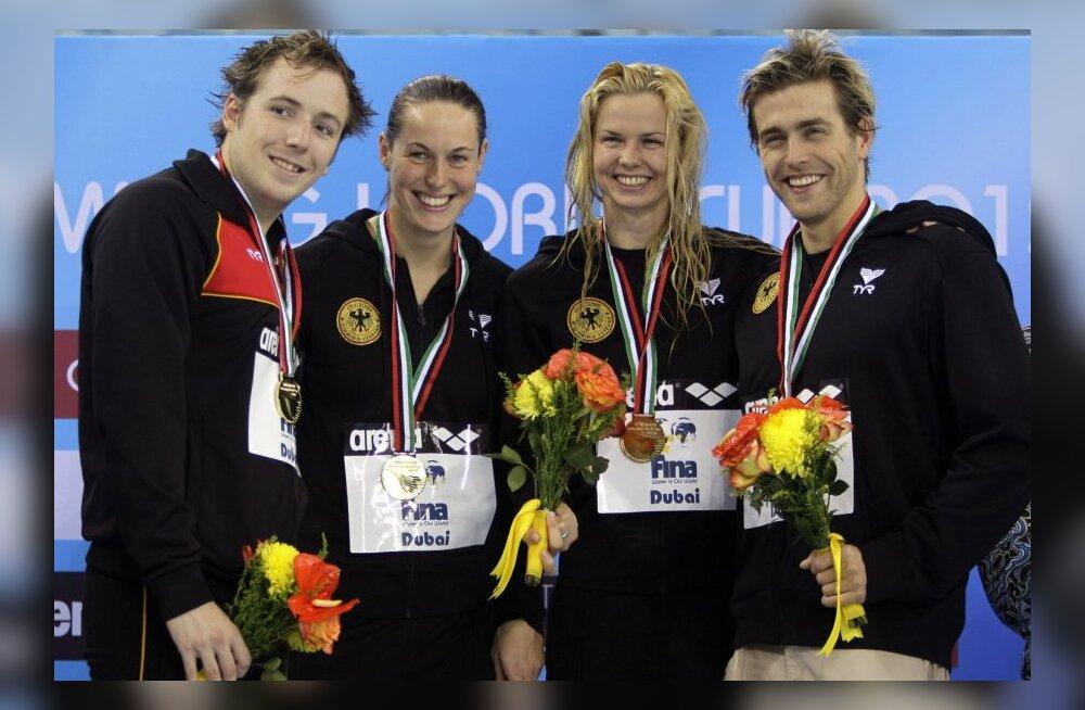 Saksamaa ujumiskoondis võitis esimese segateatevõistluse