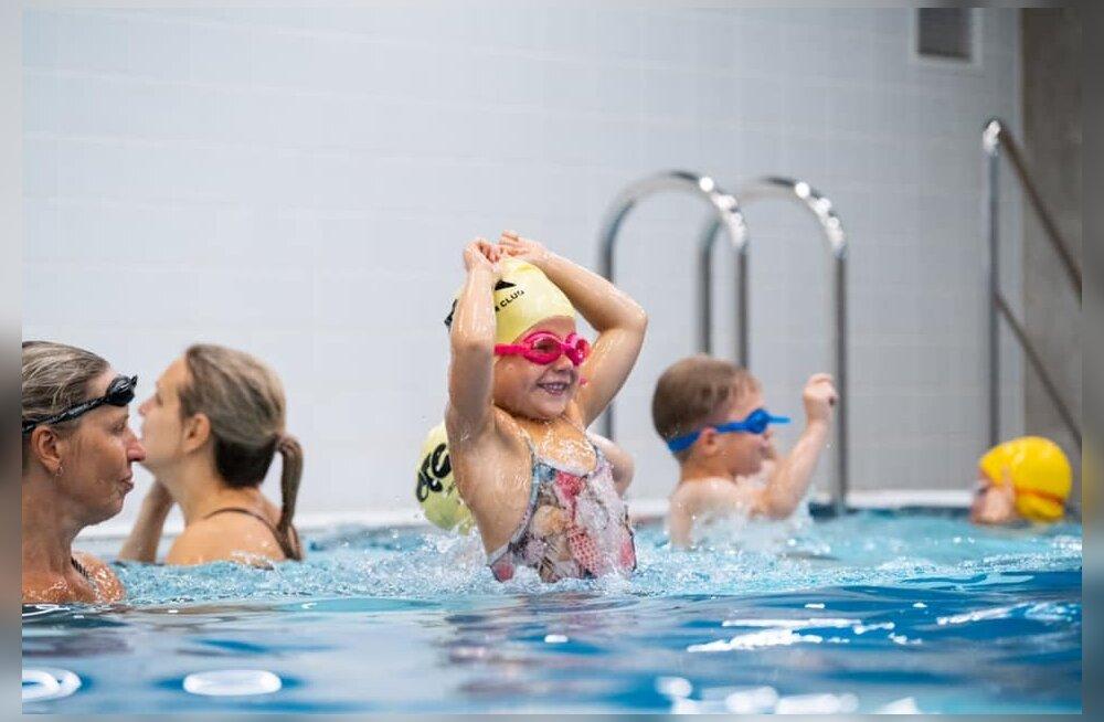 Ainuüksi ujulas suplemine veel ujumisoskust ei arenda