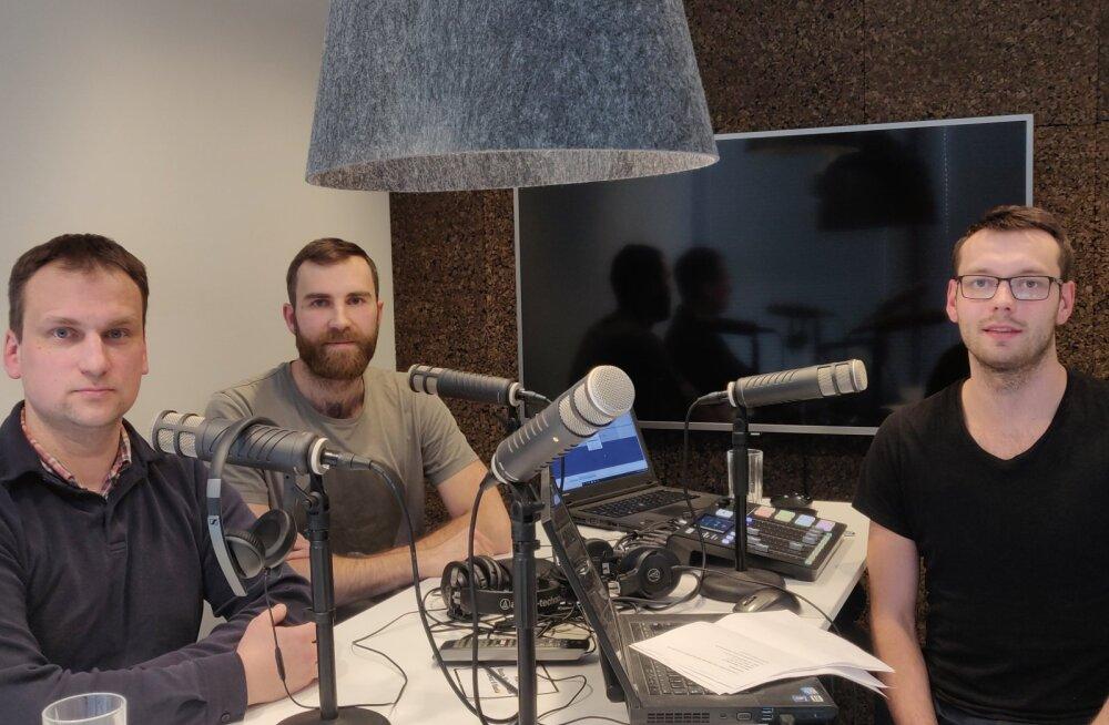 "Podcast ""Kuldne geim"", 50. saade | Läti kohtunikest, netikommentaaridest, reeglitest ja play-off'ist"