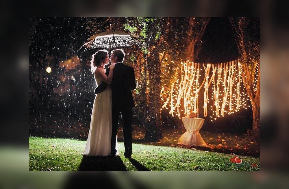 Оригинальный свадебный тренд — ночная свадьба