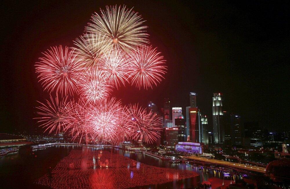 ФОТО и ВИДЕО: Смотрите, как мир встречает Новый год