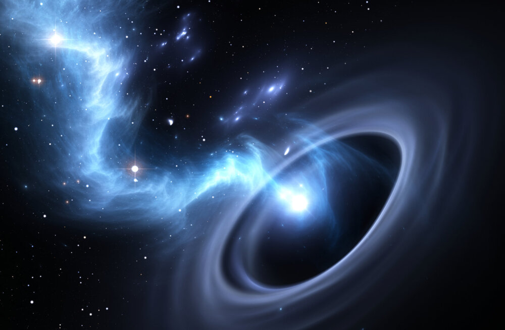 Suure musta augu ümber võib tiirelda tuhandeid planeete