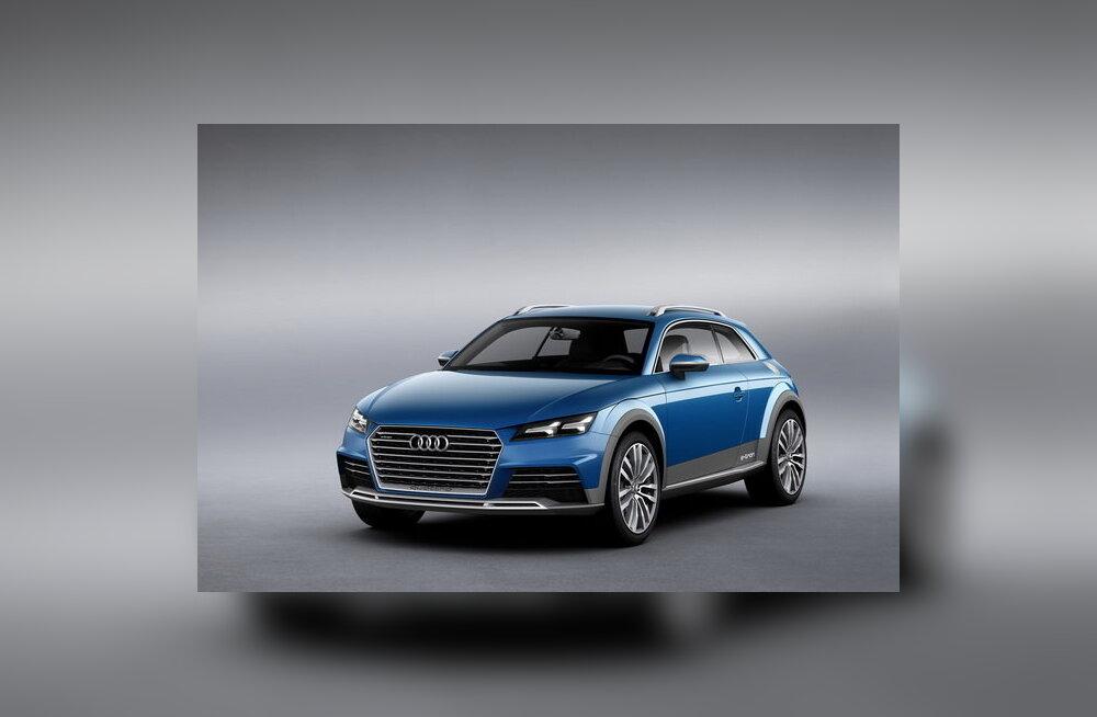 Audi avaldas ideeauto Allroad Shooting Brake Concept