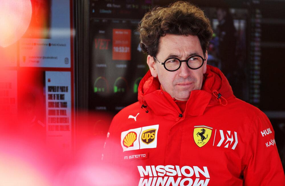 Ferrari boss on kuulujuttudest tüdinenud: FIA võiks teistele selgeks teha, et me ei tee sohki