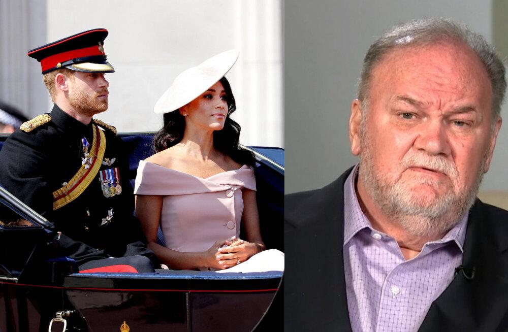 Kuninglik skandaal! Hertsoginna Meghani isa jaoks on kuningakoja uksed igaveseks suletud
