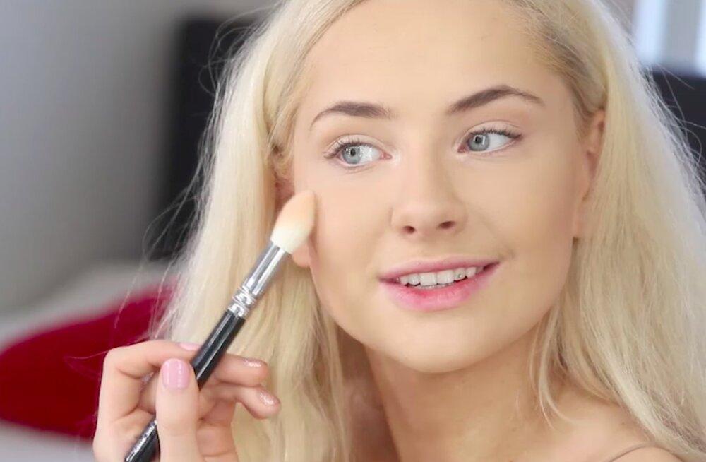 VIDEO | Siniste silmaalustega koletisest kauniks printsessiks: Brigitte Susanne Hunt tutvustab oma meigiharjumusi