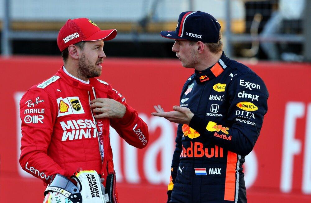 Sebastian Vettel liitub Red Bulliga? Verstappen: mul poleks temaga mingit probleemi