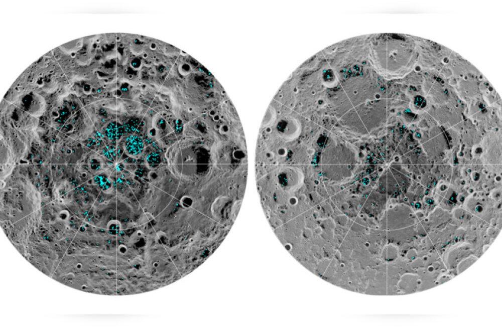 Teadlased kinnitasid lõplikult, et Kuu pinnal leidub vett