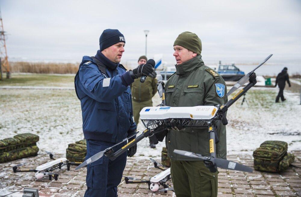 Eesti piirivalve sai 9 uut drooni