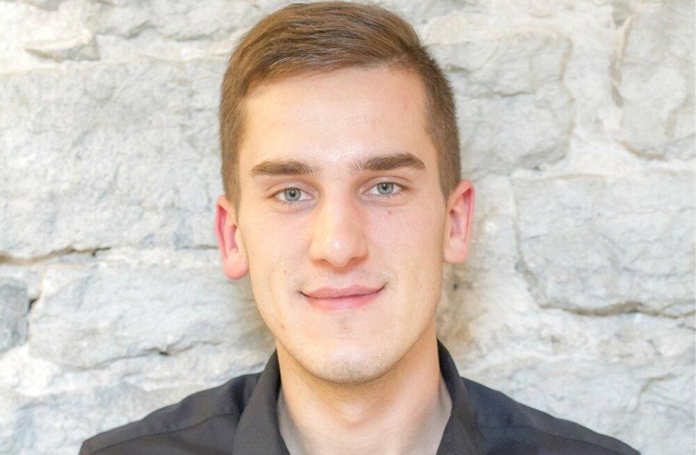 Harju Ettevõtlus- ja Arenduskeskuse noorte koordinaator Siim Kasari.