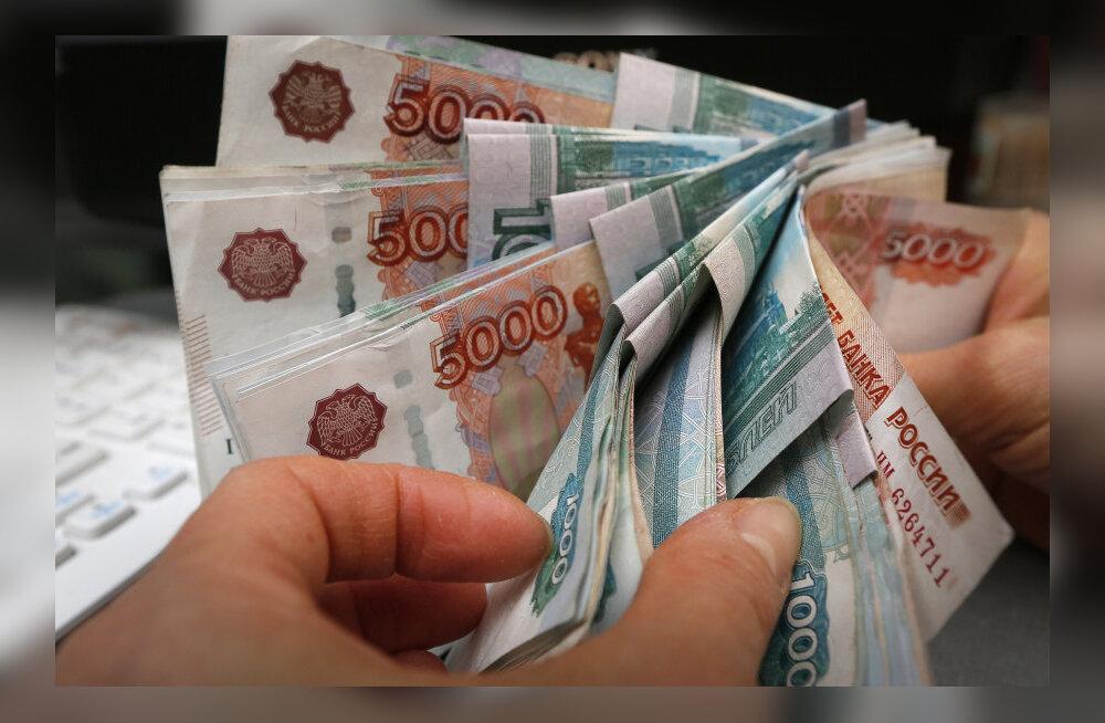 Venemaa müüb eelarve katteks 500 miljardi rubla väärtuses reservfondi valuutat
