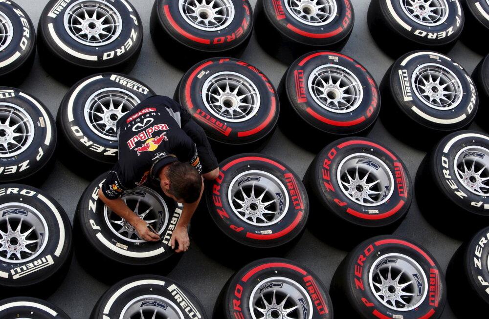 Pirelli tuleb 2018. aastal F1-s välja täiesti uue rehviseguga. Aita neid nimevalikul!