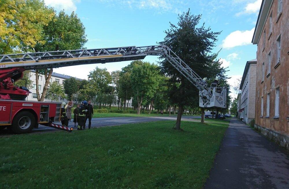 Департамент начал производство для расследования случая отравления угарным газом в Кохтла-Ярве
