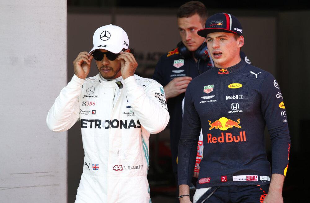 Red Bulli juht: Verstappen on Hamiltonist parem sõidumees