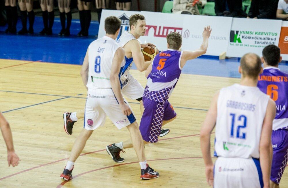 TLÜ/Kalev vs Pärnu