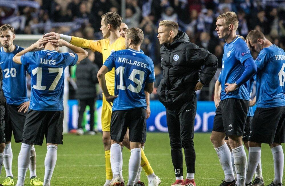 afdaf3b14ff Eestit ootab Rahvuste liigas ellujäämismäng - Sport