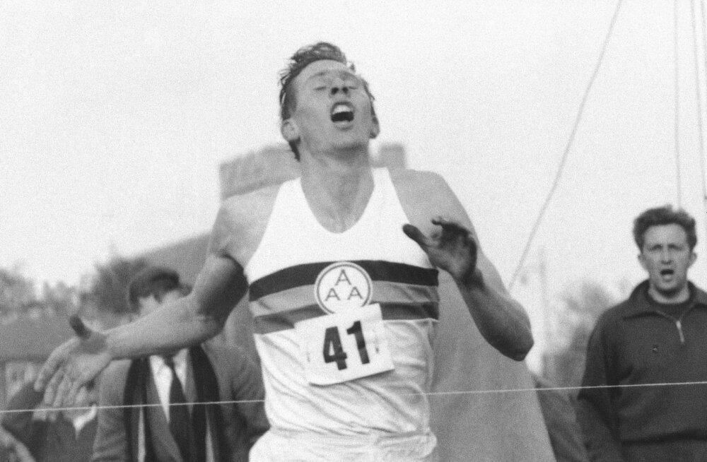 Suri Suurbritannia kergejõustiku absoluutne legend - esimene mees, kes jooksis miili alla nelja minuti
