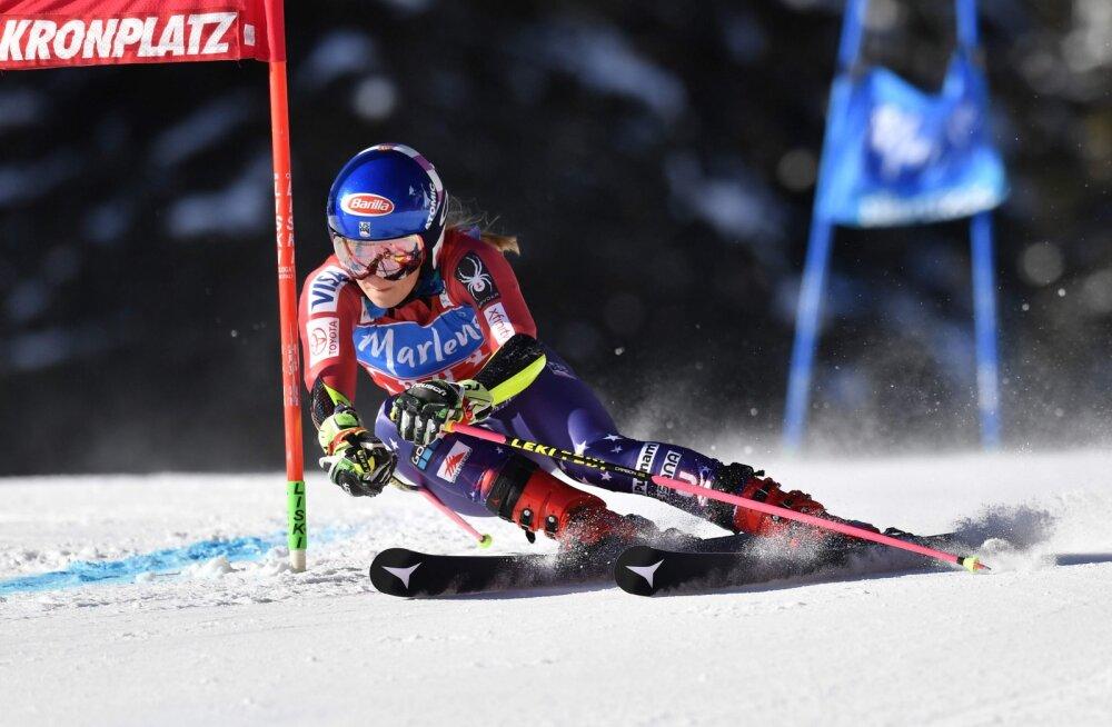 Austrias võidutsenud Mikaela Schiffrin tegi talispordi ajalugu