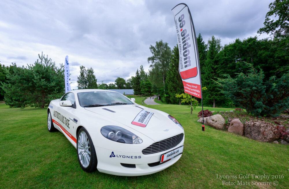 Aston Martin meelitab Eesti ja lähiriikide golfareid Otepääle