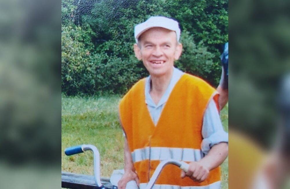 Politsei otsib Raplamaal kadunud 69-aastast Reinu