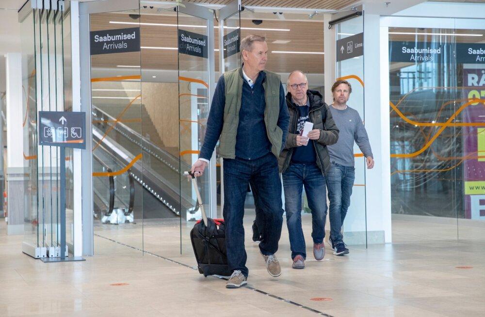 Soome reisivad ja Soomest Eestisse saabuvad inimesed
