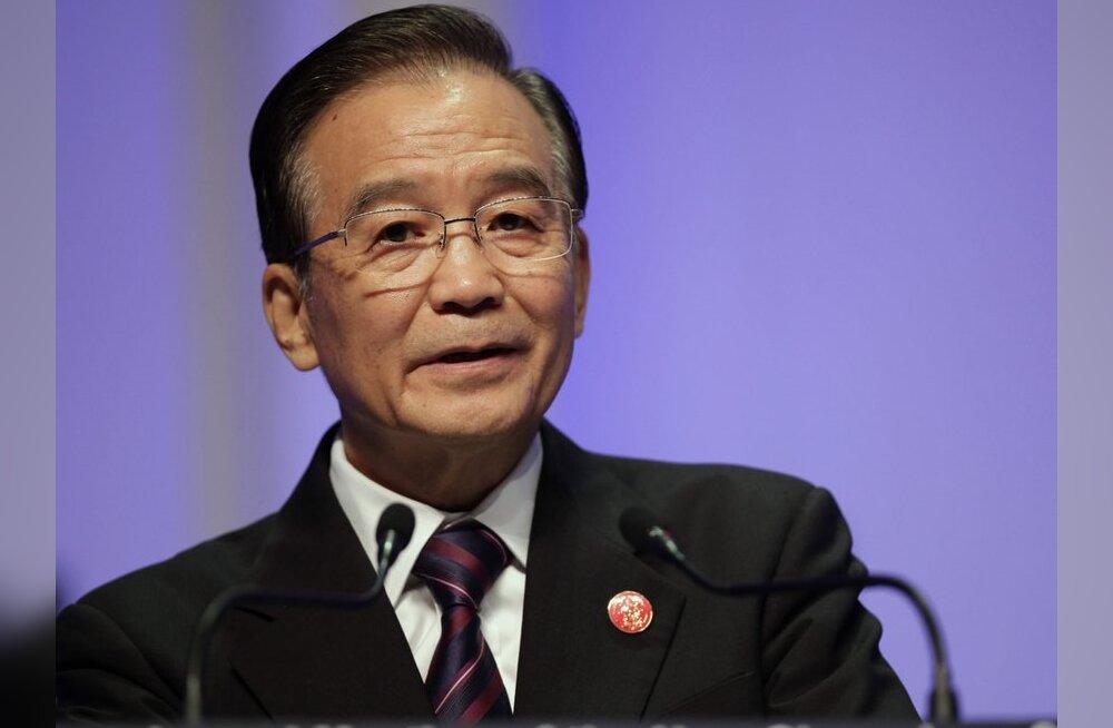 Hiina peaminister lubas ülemaailmsele majanduskasvule kaasa aidata