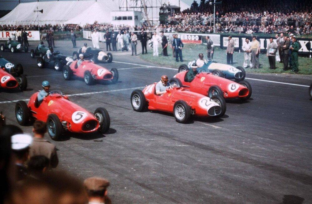 Vormel 1 aastal 1953: Fangio segas küll kaarte, aga Ascari võitis seegi kord