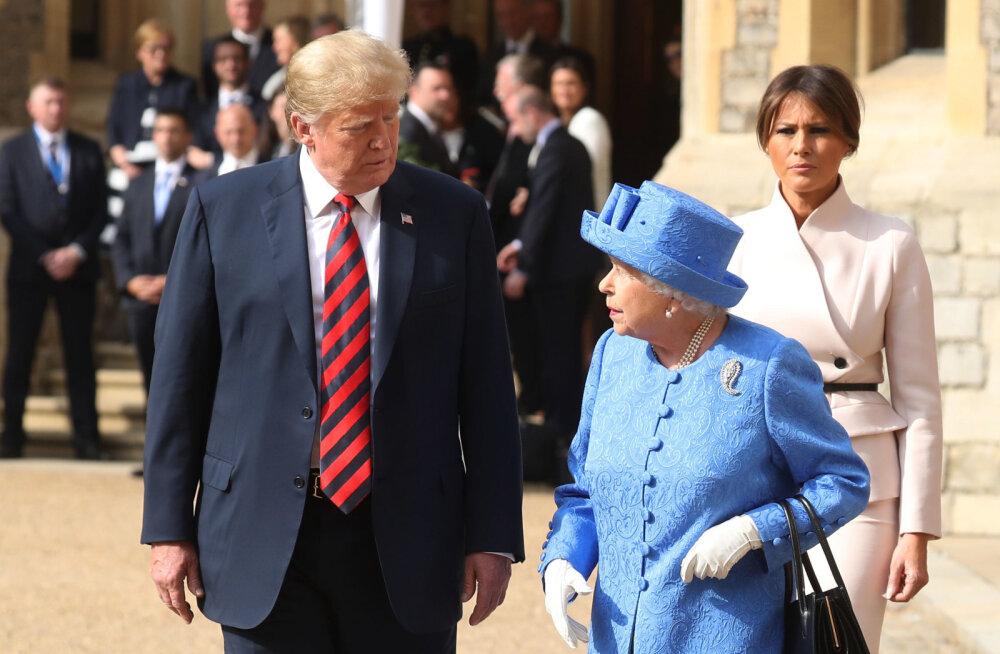 Kõik eeldused põnevaks visiidiks! Peatselt kuningakoda külastav Donald Trump ründas hertsoginna Meghanit: ta on vastik naine!