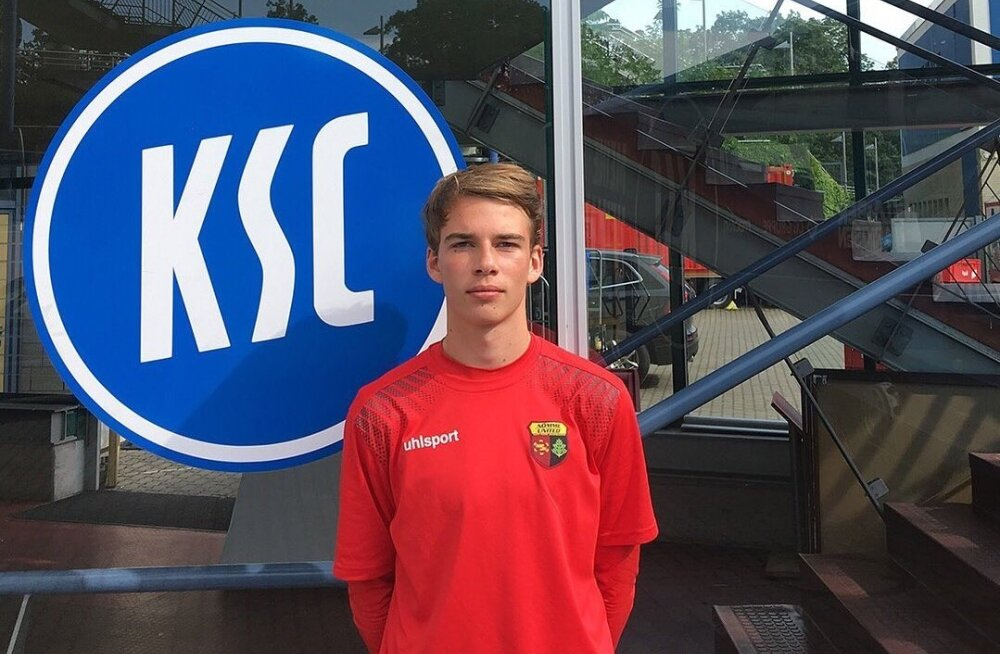16-aastane Eesti jalgpallur viibib Saksamaa klubis testimisel