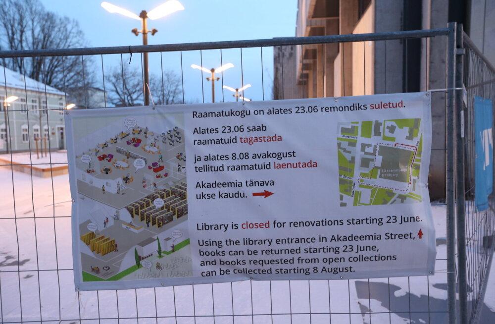 149b376b17d FOTOGALERII: Kuidas näeb välja remondis Tartu Ülikooli raamatukogu ...