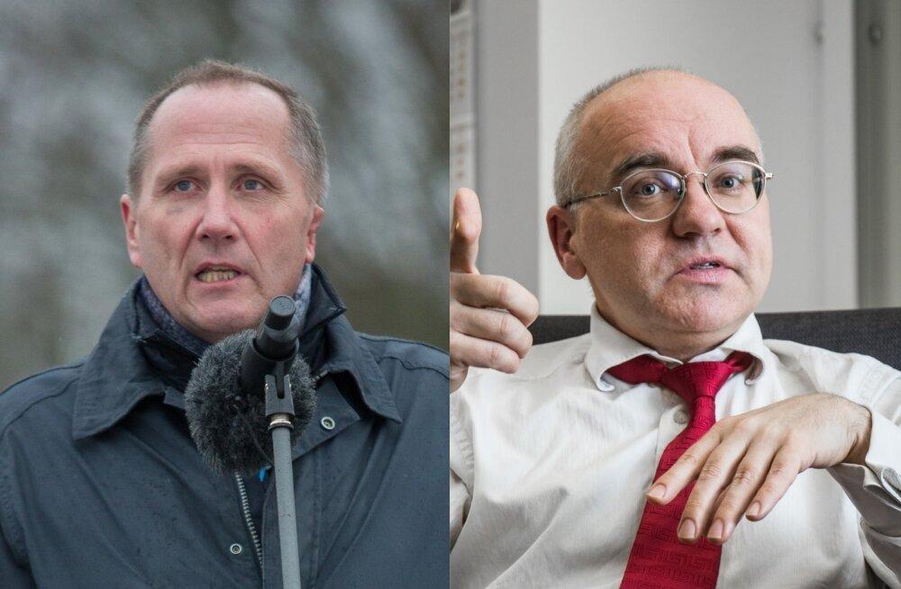 Valdo Randpere ja Erik Roose