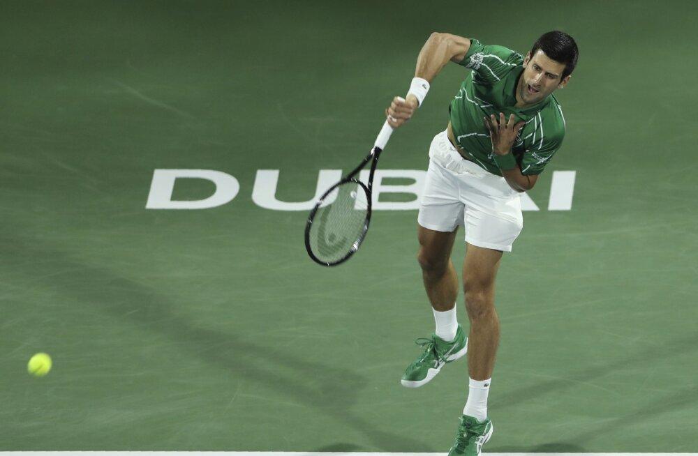 Djokovic ja Nadal heitlevad sel nädalal maailma esireketi koha pärast