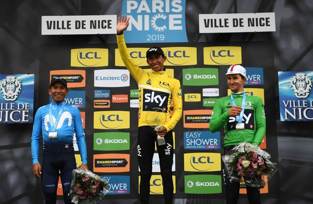 Egan Bernal võidutses Pariis-Nice velotuuril