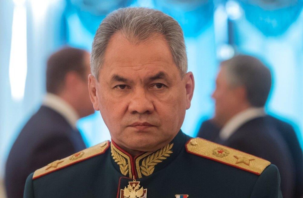 Venemaa kaitseminister Šoigu: USA on oma sõjaväebaasid vastu Vene piiri surunud