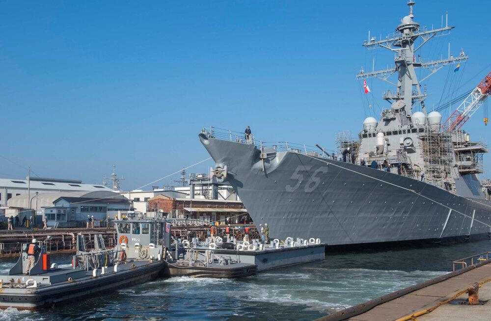 USA merevägi astub sõjalaevadel tehnikaga sammu tagasi