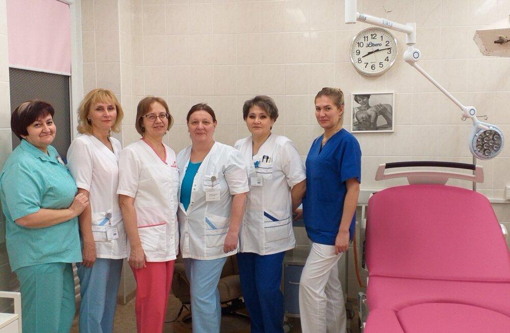 Родильное отделение Нарвской больницы присоединилось к Фонду поддержки родильных домов Эстонии