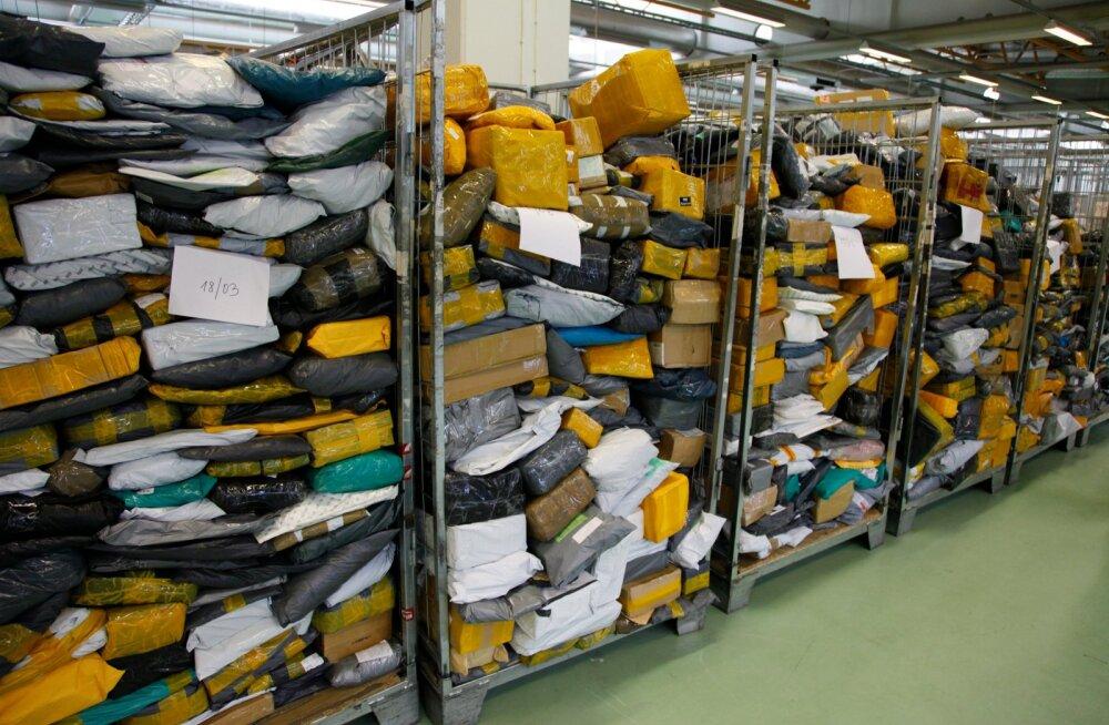 Hiina pakimüür Eesti Postis