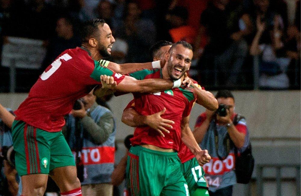 Maroko jalgpallikoondislased.
